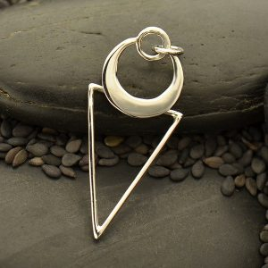 Geometric Pendant Sterling Silver  - C3123, Necklace Pendant
