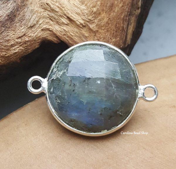 Labradorite 18mm Bezel, Stones, Gemstones, Findings, Bracelets, Pendants