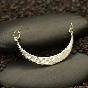 Hammered Crescent Festoon - C3093, Celestial Charms