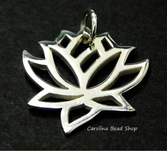 Lotus Charms - C558, Zen, Yoga, Meditation, Flowers, Serenity, Choose Your Favorite Style