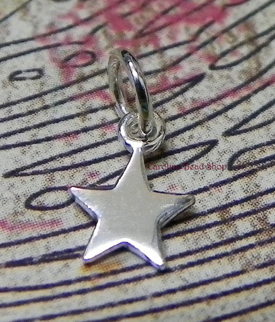 Tiny Star Charm - C862, Celestial Charms, Select Your Favorite Style