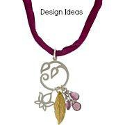 Lotus Blossom Charm - C616, Choose Your Favorite Style - Meditation, Yoga, Flower Blossom, Zen