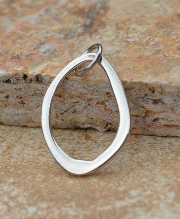 Abstract Link - Sterling Silver Link - Small, C1049