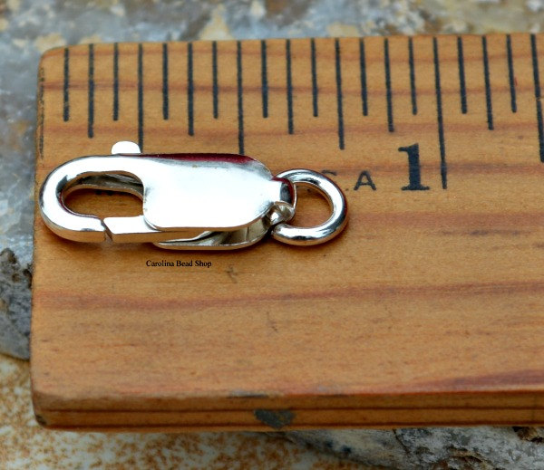Lobster Clasp - 16.2mm x 6.4mm, C494, Findings, Clasp, Closure