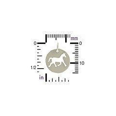 Sterling Silver Horse Charm - C800, Pet Charms, Western, Animals