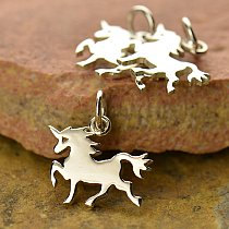 Sterling Silver Unicorn Charm  - C1432, Fantasia Collection, Mystical