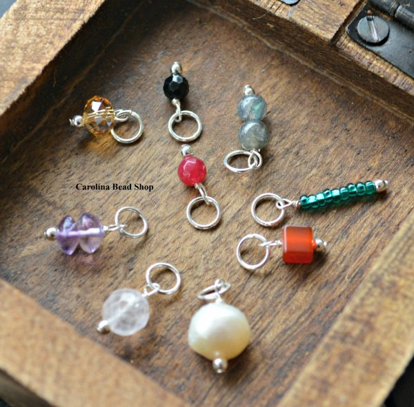 Gemstone Dangles - Sterling Silver , Pearls, Black Onyx, Ruby, Citrine, Amethyst & Many More
