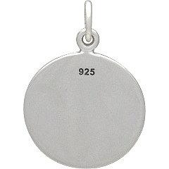 Sterling Silver Flower of Life Charm - C1509, Zen Yoga, Flower, Symbolic Charm, Spirit