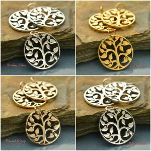 MediumTree of Life Pendant  - Family, Ancestry, Children, Woodlands, C543
