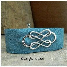 Triple Infinity Link - C2852, Sterling Silver, Bracelet Supplies, Design Ideas Lets Get Creative