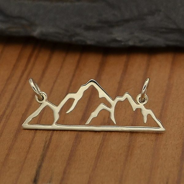 mountain festoon pendant